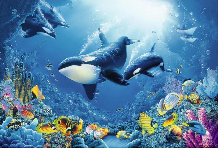 Потрясающий аквариум & The Best Relax Music — 2 часа HD .