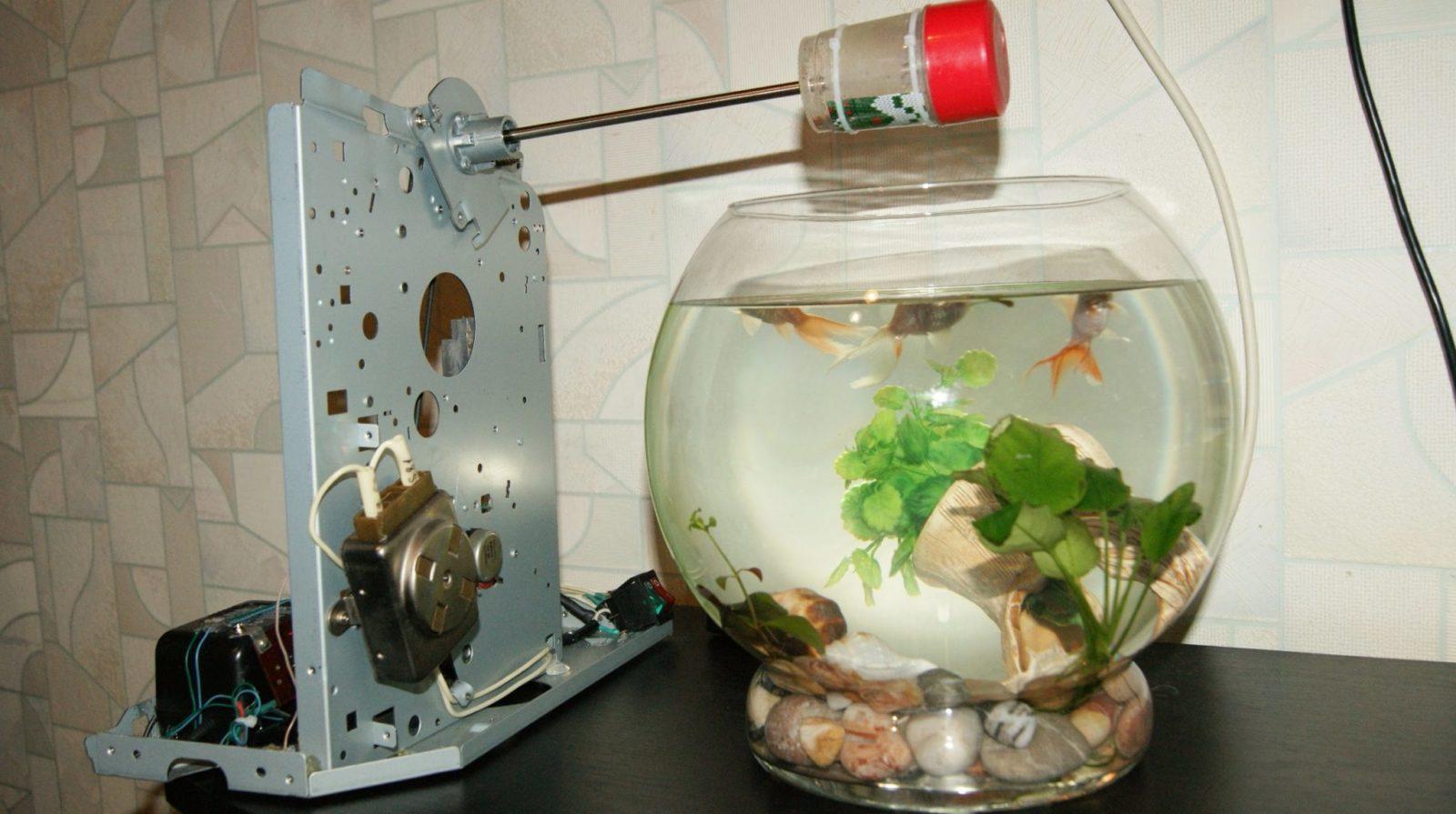 Автокормушка для рыб своими руками — фото,видео,обзор,описание.