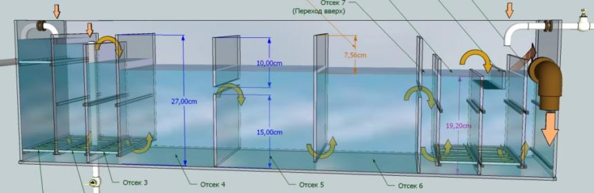 Самп для аквариума схема