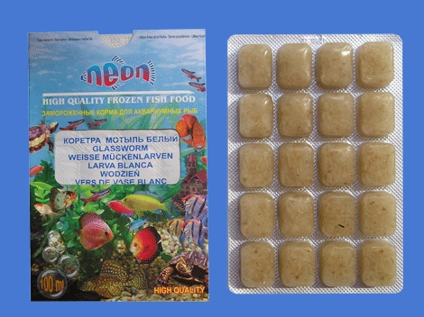 Дополнительные виды корма для аквариумных рыбок.