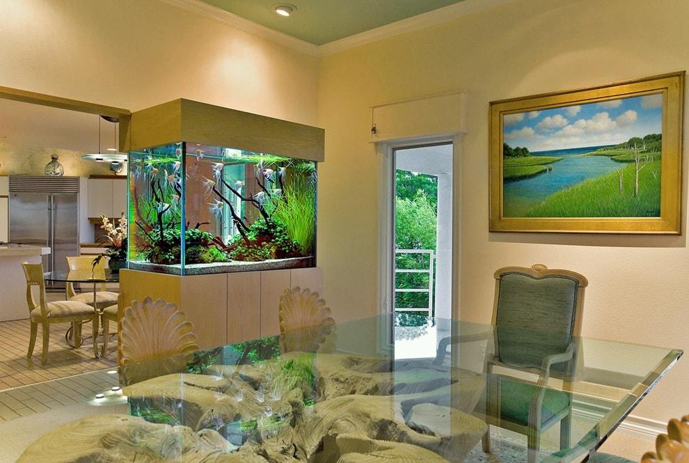 Какое место выбрать лучше всего для аквариума?